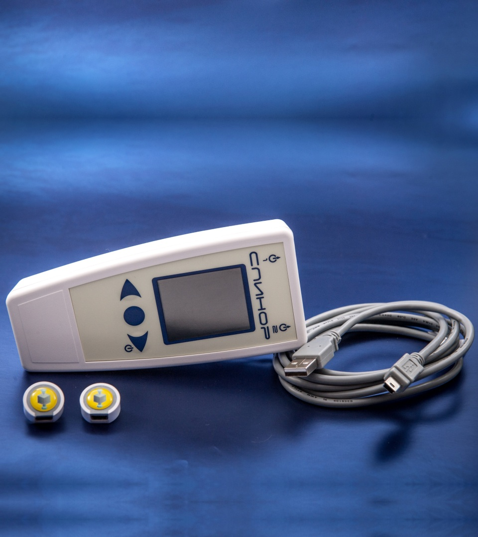 Spinor LCD is the portable device of  EHF-IR therapy